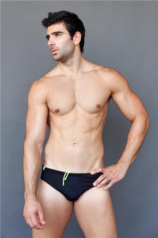 maillot de bain G-lad blog homme urbain pump black front