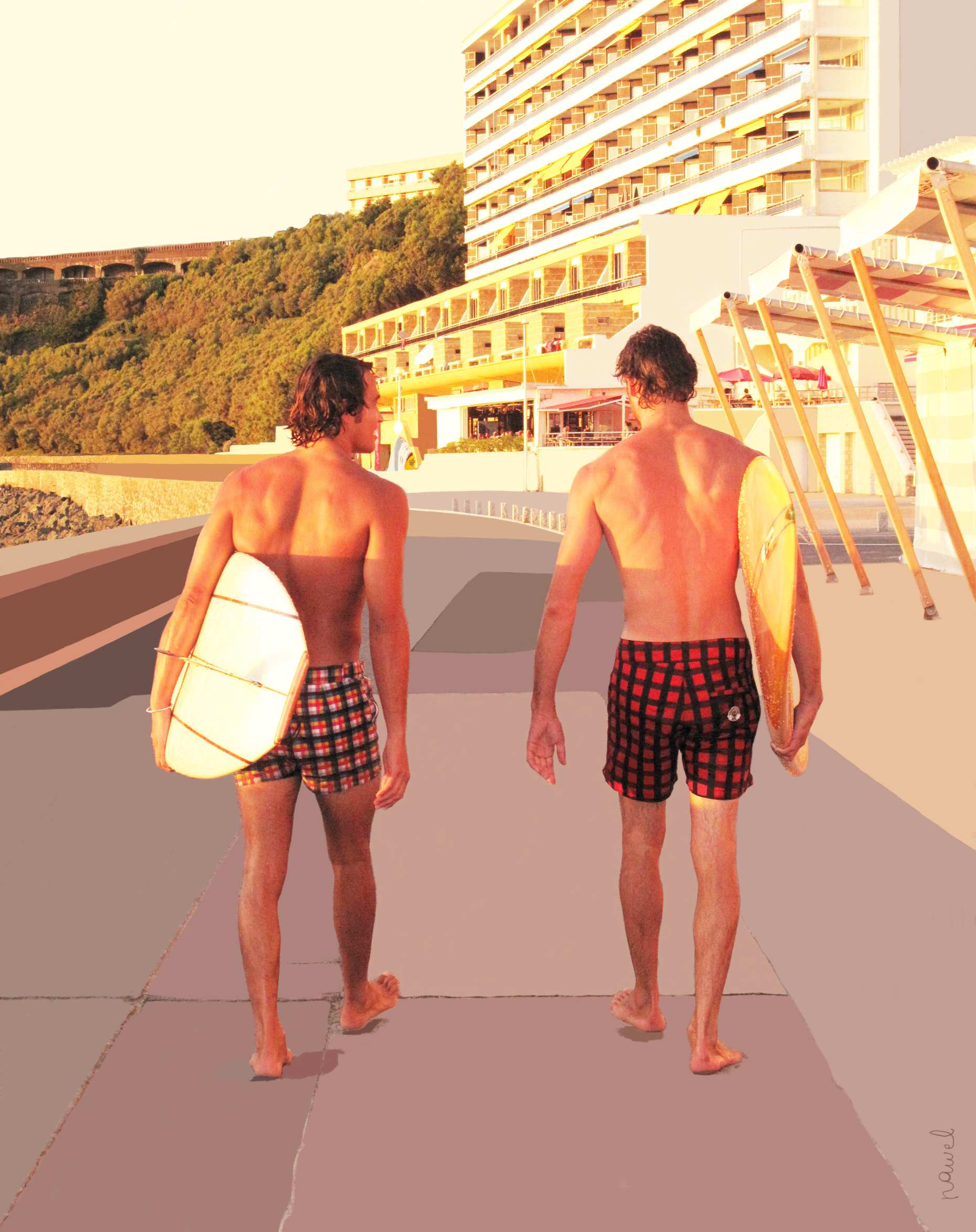 4b5bbdf734 Maillots de bain homme 2011 : Robinson les bains s'inspire du Pays Basque