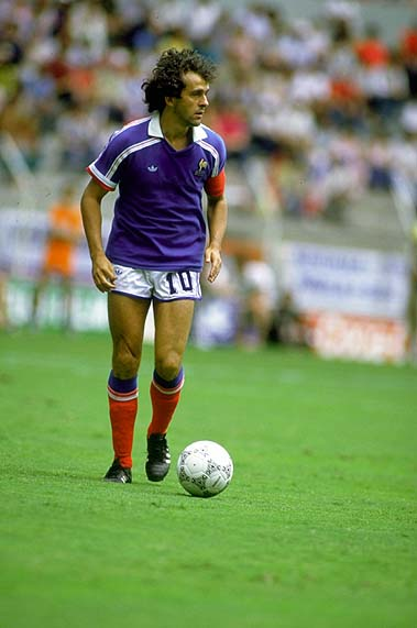 Michel Platini of France