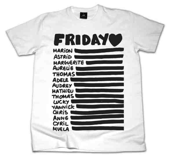 Friday - WEBSTORE