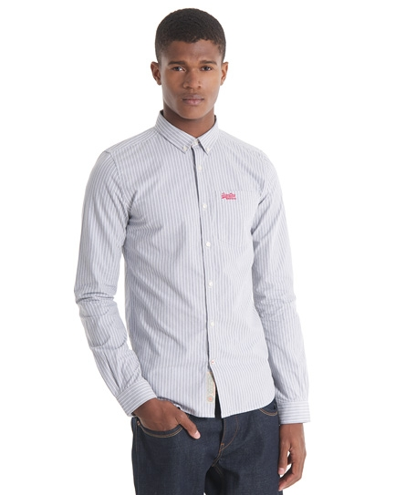 chemise superdry blanche