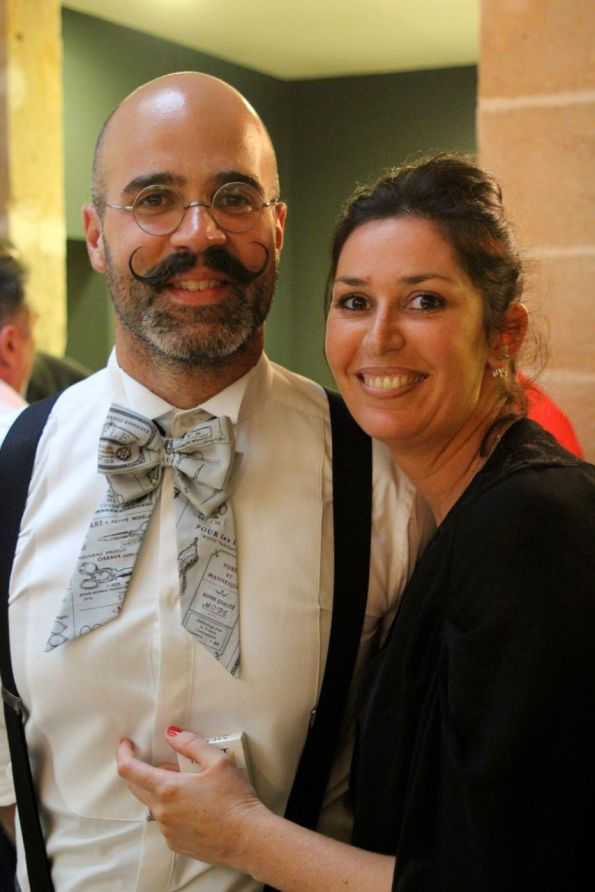 Geoffrey Guillin, illustrateur du livre Barbes et moustaches